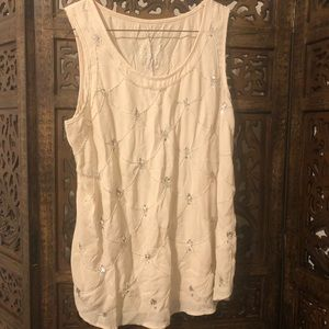 Juicy Couture beaded tank